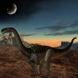 plateosaurus för dinosaur 3d Royaltyfri Bild