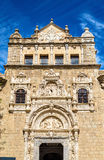 Plateresque facade of Santa Cruz Museum in Toledo, Spain. Plateresque facade of Santa Cruz Museum in Toledo - Spain Royalty Free Stock Photos