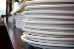 Plates stock images