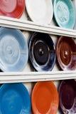 Plates Stock Image