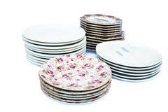 Plates Royalty Free Stock Photos