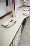 Plates and an ashtray Stock Image