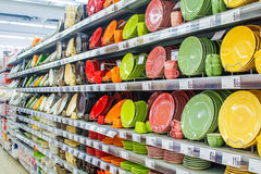 Plates colors Royalty Free Stock Photos
