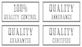 plates kvalitetssilver royaltyfri illustrationer