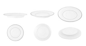 Plates or saucers Royalty Free Stock Photo