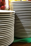 Plates tower Stock Photo