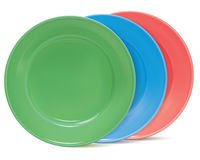 Plates, . Vector illustration Stock Image