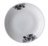 Plates on the white background. Royalty Free Stock Images