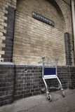 Platform 9 and 3/4 at Kings Cross Station Royalty Free Stock Photos
