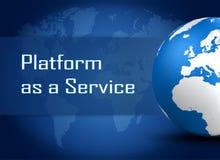 Platform as a Service Stock Photo