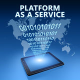 Platform as a Service Stock Image