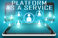Platform as a Service Royalty Free Stock Photos