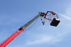 Platform crane arm Royalty Free Stock Photo