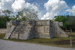 Platform of the Eagles and the Jaguars, Chichen Itza Royalty Free Stock Photography