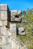 Platform of the Eagles and Jaguars. In Chichen Itza, Mexico Royalty Free Stock Photography