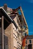 Platform lift for restoration (1) Royalty Free Stock Images