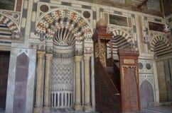 platform met mihrab royalty-vrije stock fotografie