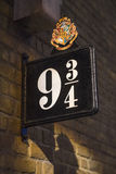 Platform Nine and Three Quarters Royalty Free Stock Photos