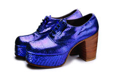 Platform Shoes Royalty Free Stock Photography
