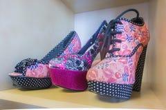 Platform Shoes Stock Photography