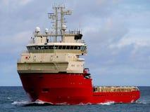 Platform Supply Ship A. Platform supply ship underway at sea Stock Images