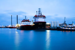 Platform Supply Vessel Royalty Free Stock Photography