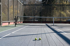 Platform tennis court Stock Images