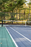 Platform tennis paddle court Royalty Free Stock Image
