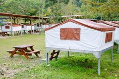Camping in Taiwan Royalty Free Stock Images