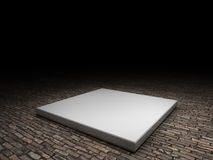 Platform to place product Royalty Free Stock Image