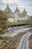 Yangon Central Railway Station, Myanmar Royalty Free Stock Image