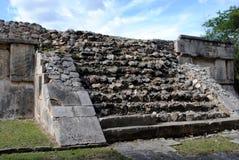 Platform van de Adelaars en de Jaguaren, Chichen Itza Royalty-vrije Stock Foto
