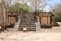 Platform of Venus, Chichen Itza. Platform of Venus, a part of the Maya Chichen Itza archaeological site in the Mexican state of Yucatan. It was built sometime Stock Photo