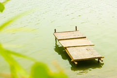 Platform on the water Royalty Free Stock Photography