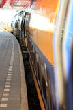 platforma pociąg Zdjęcia Stock