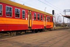 platforma pociąg Obrazy Royalty Free