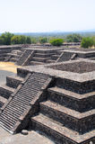 Platforms Avenue of the Death, Teotihuacan, Mexico Stock Images