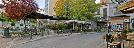 Platia Iroon Athens stock photos