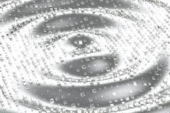 A platina do ouro de prata ou branco obstrui cubos sobre o fundo da onda Ilustração da modelagem 3d bitcoin rico da mineração da  Ilustração Stock