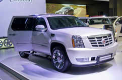 Platino del Cadillac Escalade Fotografia Stock