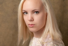 Platinum Blonde Beauty Stock Photos