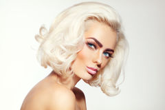 Platinum blonde Stock Photography