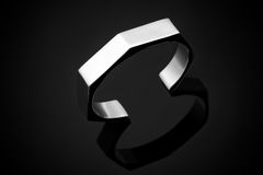 Platinum bracelet Stock Images