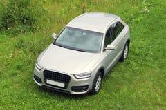 Platinum car hatchback Royalty Free Stock Photography