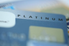 Platinum Credit Card Royalty Free Stock Image