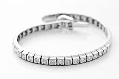 Platinum diamond lace Stock Photos
