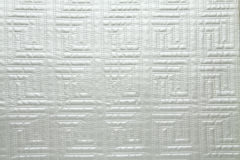 Artificial fabric texture cellular web pattern platinum gray color Stock Photo