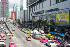 Platinum shopping fashion mall in Bangkok Thailand on August 11, 2017 Royalty Free Stock Image