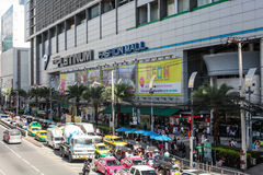 Platinum shopping fashion mall in Bangkok Thailand on August 11, 2017 Stock Photography