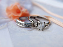 Platinum wedding ring 5 Royalty Free Stock Image